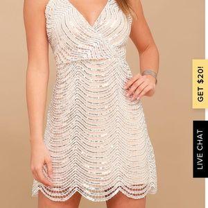 Lulus Sequin Party Dress